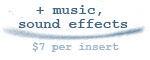 add music/sound effect edits to cart