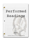 Performed Audio Readings of your screenplays!